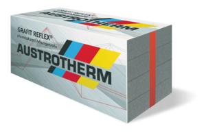 Austrotherm Grafit Reflex® homlokzati hőszigetelő lemez