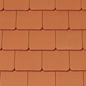 Creaton Ambiente egyenesvágású kerámia tetőcserép - natúrvörös