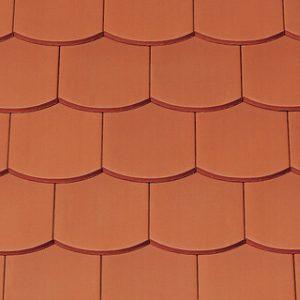 Creaton Ambiente szegmensvágású (hódfarkú) kerámia tetőcserép - natúrvörös
