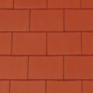 Creaton Bécsi táska egyenesvágású kerámia tetőcserép - natúrvörös