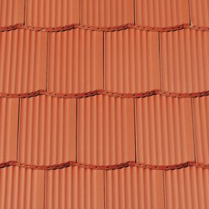 Creaton Hortobágy szegmensvágású hornyolt tetőcserép - natúrvörös