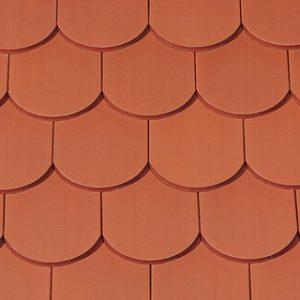 Manufaktur torony hódfarkú kerámia tetőcserép - natúvörös