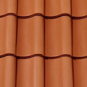 Creaton Melodie kerámia tetőcserép - natúrvörös