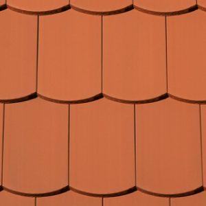 Creaton Róna szegmensvágású profil hornyolt tetőcserép