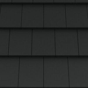 Creaton Simpla kerámia tetőcserép - Nuance matt fekete engóbozott